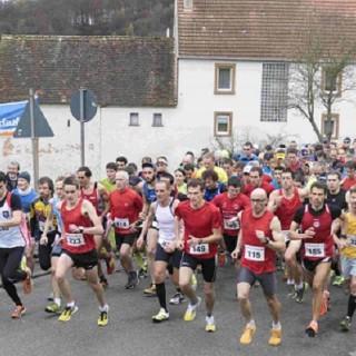 Start Potzberg-Berglauf