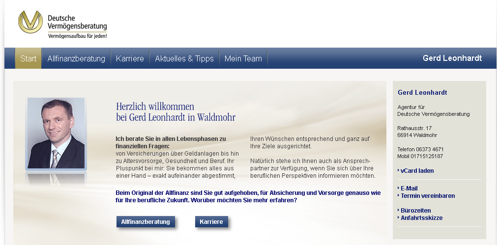 DVAG-Agentur Gerd Leonhardt